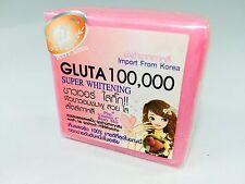 GLUTA 100000 SOAP GLUTATHIONE SUPER WHITENING SKIN BLEACHING FORMULA