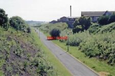 PHOTO  COWDENBEATH RAILWAY STATION OLD SITE FIFE 1988 NB COWDENBEATH JCT. TO KIN