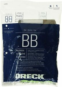 8 PK Oreck BB PKBB12DW Allergy Canister Vacuum Cleaner Bag Housekeeper XL Buster