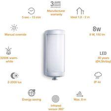 Steinel Design Sensor Außenleuchte 2 x 8W L626 Aluminium mit Bewegungsmelder