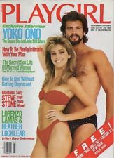 PLAYGIRL 83 HEATHER LOCKLEAR Oriels STEVE STONE nude YOKO ONO John Johnson