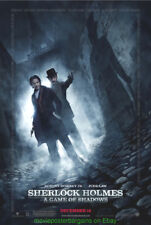 SHERLOCK HOLMES 2 MOVIE POSTER DS 27x40 ROBERT DOWNEY JR. Final Style