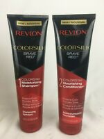 Revlon Colorsilk Brave Red ColorStay Shampoo & Conditioner Set. 8.45 oz. NEW!