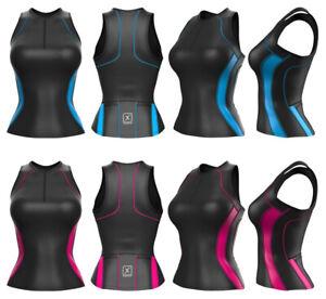 Ladies Womens Triathlon Tri Top for Triathlon Swimming Running & Cycling Yoga