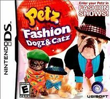 Petz Fashion: Dogz & Catz (Nintendo DS, 2009)