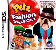 Petz Fashion: Dogz & Catz - Nintendo DS Game w/original case