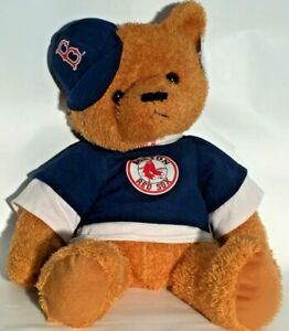 New Boston Red Sox MLB Baseball Team Logo Good Stuff Stuffed Animal Teddy Bear