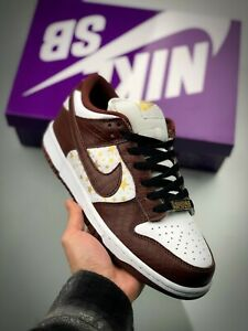 Nike SB Dunk Low Supreme Stars Barkroot Brown 8.5 EU 42 |9.5 EU 43| New in Box