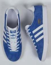 Adidas Originals Gazelle OG Vintage UK 8,5 Royal Bleu Blanc Entièrement neuf dans sa boîte