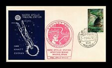DR JIM STAMPS MADRID APOLLO TRACKING STATION SPACE SPAIN COVER