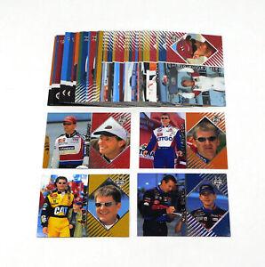 2001 Press Pass Optima NASCAR Racing Card Set (50)