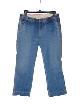 Pre Owned Tommy Hilfiger Jean Capris Size 6 Low Rise