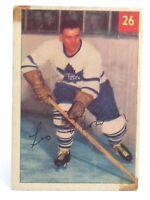1954-55 Leo Boivin #26 Toronto Maple Leafs Defense Parkhurst Hockey Card G936