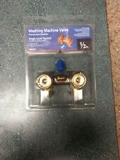 Washing Machine Valve 1/2 Inch Brass Front Operated Dual Durable Brass