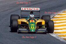 Mika Häkkinen LOTUS 102D Grand Prix du Brésil 1992 Photographie 1