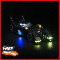 Led Light Kit For LEGO 40433 1989 Batmobile mini version car Building Bricks Set