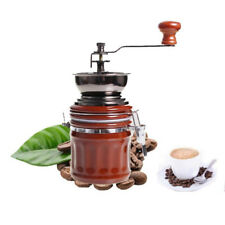 Vintage Stainless Steel Ceramic Manual Coffee Beans Nut Mill Spice Hand Grinder