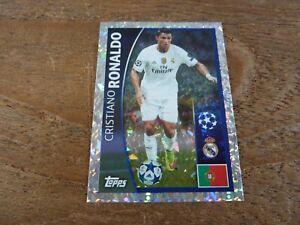 Cristiano Ronaldo Topps Champions League 2015/16 Football Sticker - VGC! No 10
