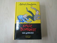 Astrid Lindgren - KALLE BLOMQUIST LEBT GEFÄHRLICH - Oetinger - HC - (23035)