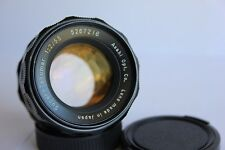 Super Takumar  55mm f2 Pentax M42 Screw Mount  Standard Prime Lens