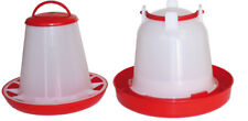 2 Teiliges Set - Automatic Feeder (1 kg) and Drinker 1,5 for Chick/Wachteln-Hüh