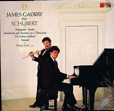 SCHUBERT ARPEGGIONE SONATA JAMES GALWAY PHILLIP MOLL RCA 5303 LP SEALED PROMO