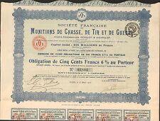MUNITIONS de Chasse, de Tir & de Guerre (G)