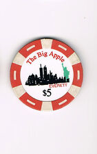 Everett - The Big Apple - $5 Casino Chip
