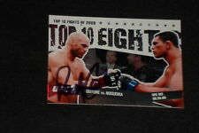 RANDY COUTURE 2010 TOPPS UFC SIGNED AUTOGRAPHED CARD #16 MMA FIGHTER