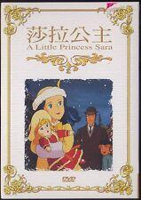 Little Princess Sara Sarah (Japan 1985) Anime all 46 Episodes 3-DVD TAIWAN