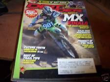 Dirt Rider Magazine 12/2007 Full Throttle MX Finals