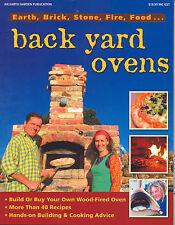 NEW Back Yard Ovens  Earth Garden earth brick stone recipes instock pb 2009