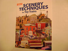Scenery Techniques for Toy Trains- Peter H. Riddle- Classic Toy Trains