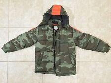 ☀ NEW OLD NAVY Boys Camo Fleece Lined Jacket Hunting Coat Parka Puffer XL 14