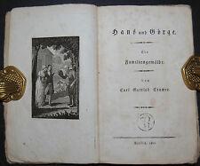 Cramer - Hans und Görge. Ein Familiengemälde – Berlin 1802