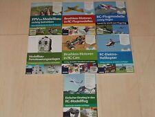 Sammlung 7 RC-Modellbau-Bücher ink. DVDs komplett und NEU!