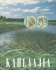 Finland 1996 MNH Sheet and 5 Cards - Waders - Official Booklet - Birds - Fauna