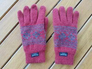 Thinsulate Handschuhe Winter Berg gefüttert Wolle isoliert gestrickt warm L/XL