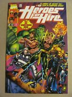 Heroes For Hire #1 Marvel Comics 1997 Series 9.4 Near Mint