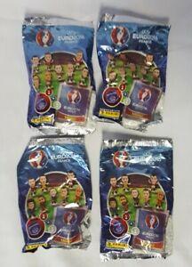 UEFA Euro 2016 Sticker 3D Figures Collection Sealed Blind Packs - x 4
