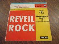45 tours TRUMPET BOY ET SA TROMPETTE-SUCCES rock - calypso - cha cha reveil rock