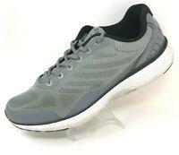 Fila Mens Startup Running Shoes Gray Black 1RM00578-051 Low Top Memory Foam 12