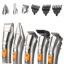 7in1 Rechargeable Men Trimmer Grooming Hair Beard Body Clipper Razor Shaver Kit