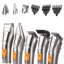 7in1 Rechargeable Men Trimmer Grooming Hair Beard Body Clipper Razor Shaver Kit