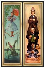 "HAUNTED MANSION STRETCHING ROOM PART 1-2 - DISNEY POSTER  - 12"" x 18"""