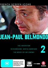Jean-Paul Belmondo - Vol. 2 NEW PAL Classic 3-DVD Set