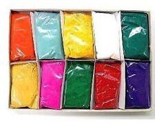 Festival Colors Rangoli, Arts Crafts Patterns Non-Toxic Natural Scrapbooking NEW