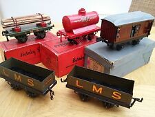 HORNBY O GAUGE Locomotive Wagons Building Buffers Turntable Level Crossing Track