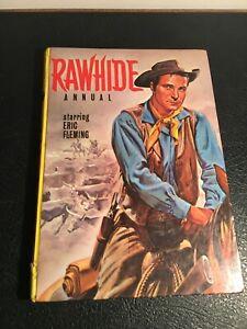 Rawhide Tv Annual.📺 rare 1963