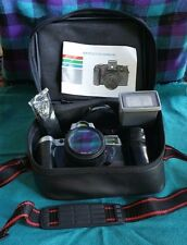 Ultima UL 3000 Deluxe Camera, Red Eye Reduction, Motor Drive, Flash, Case - Mint